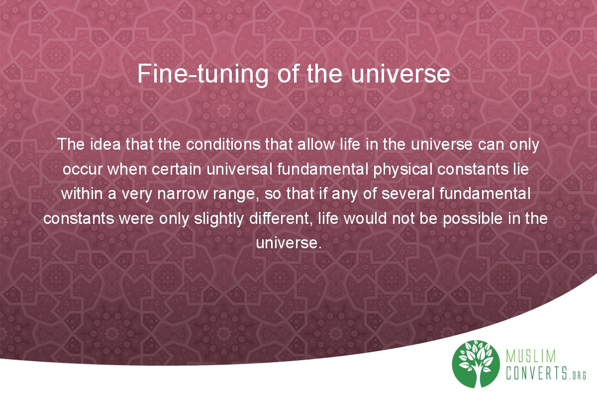 fine-tuning-of-the-universe