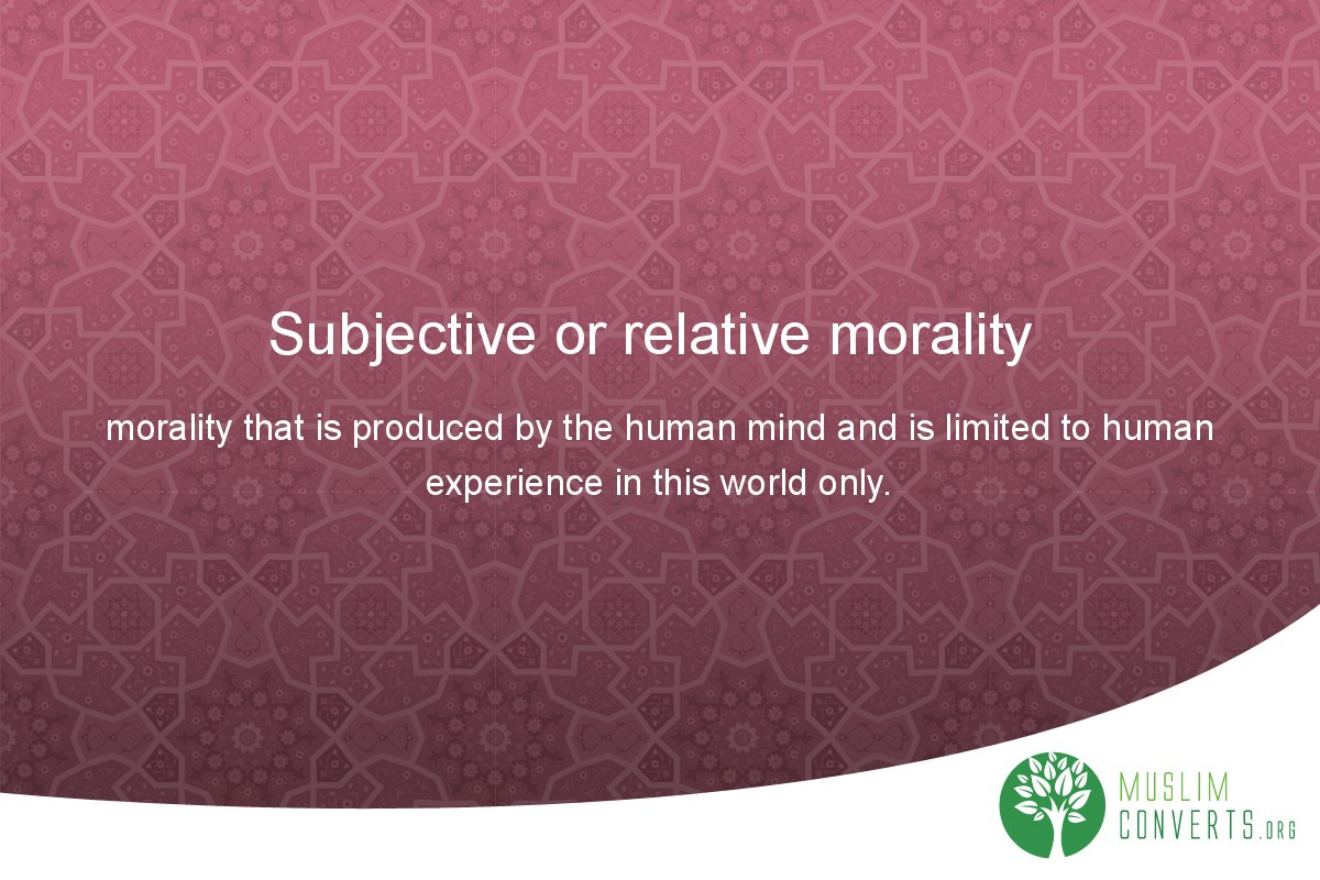 subjective-or-relative-morality