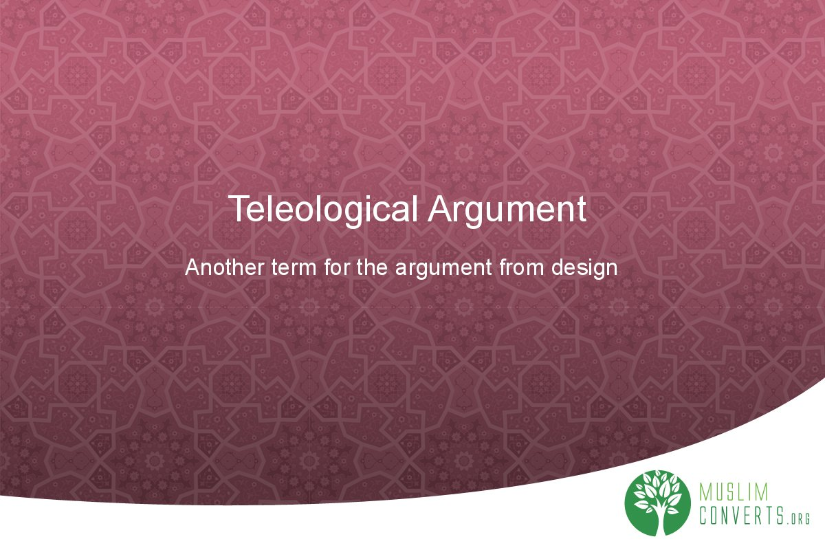 teleological-argument