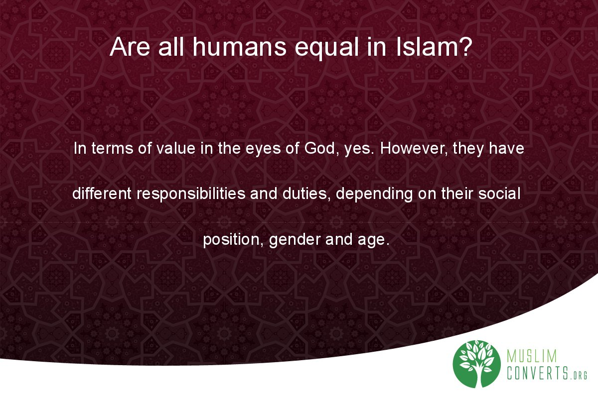 are-all-humans-equal-in-islam