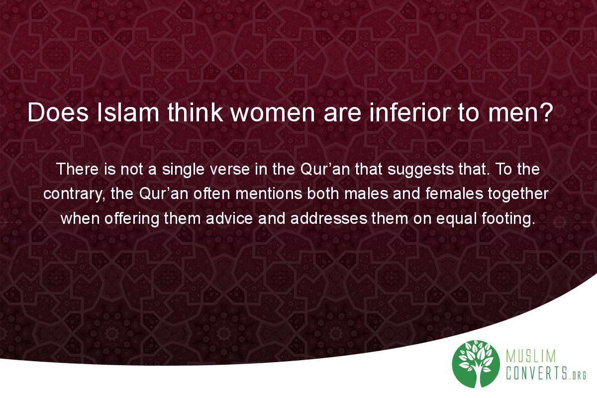 does-islam-think-women-are-inferior-to-men