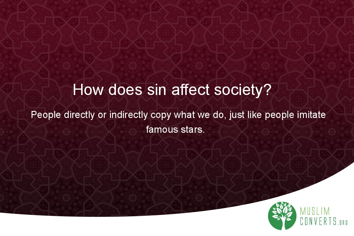 how-does-sin-affect-society