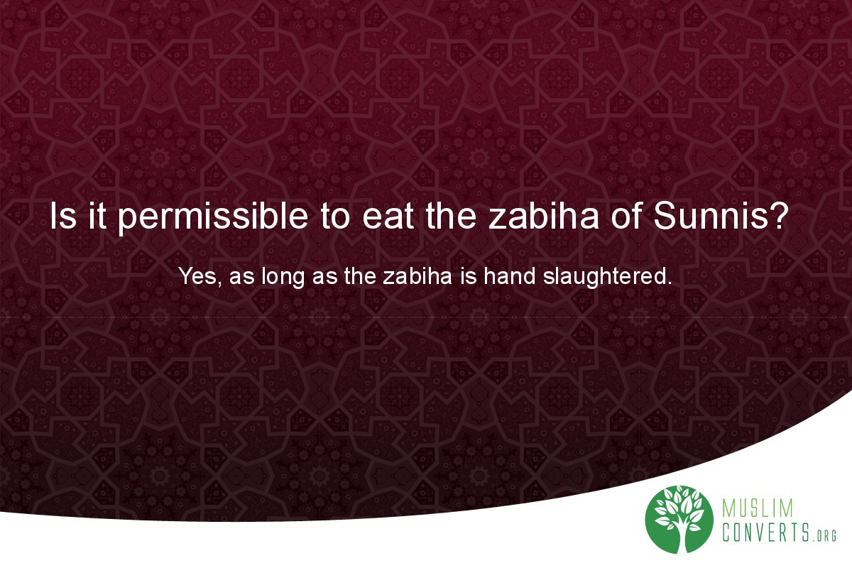 is-it-permissible-to-eat-the-zabiha-of-sunnis-1