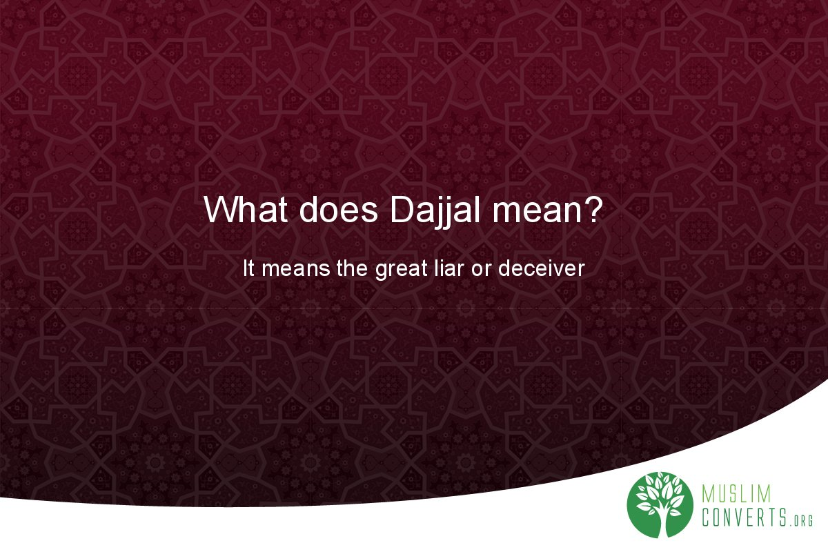 what-does-dajjal-mean