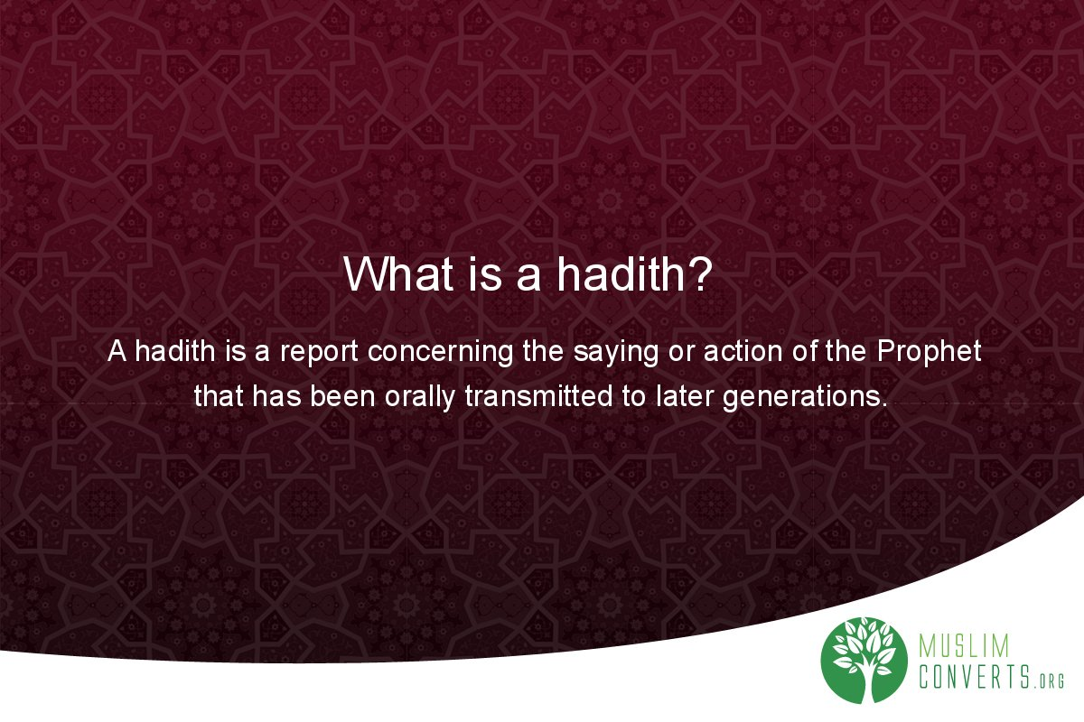 what-is-a-hadith