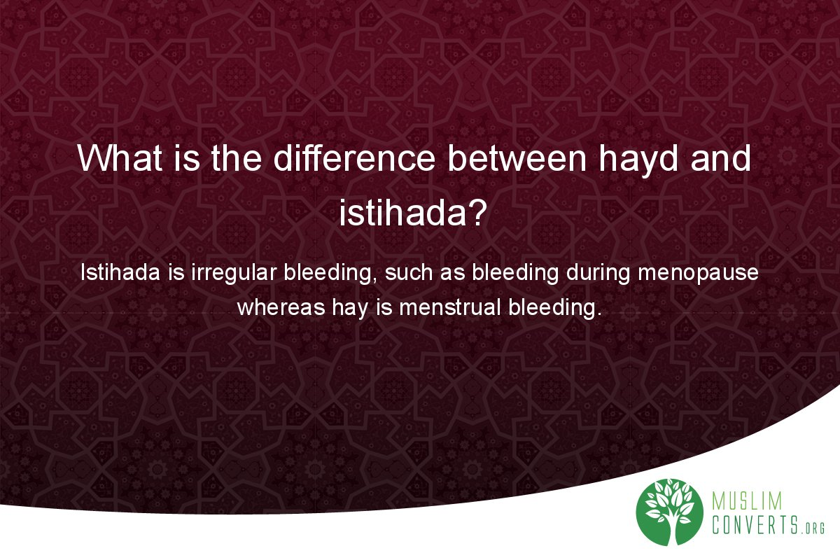 what-is-the-difference-between-hayd-and-istihada
