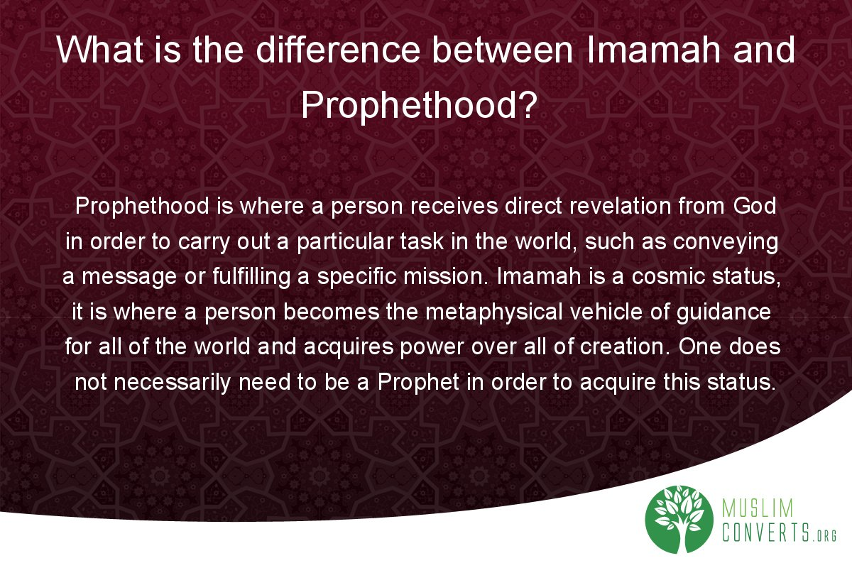 what-is-the-difference-between-imamah-and-prophethood