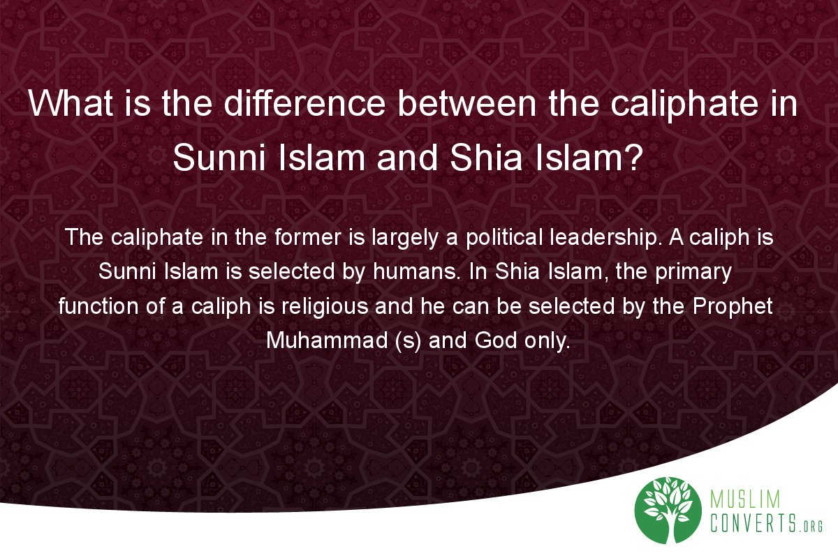 what-is-the-difference-between-the-caliphate-in-sunni-islam-and-shia-islam