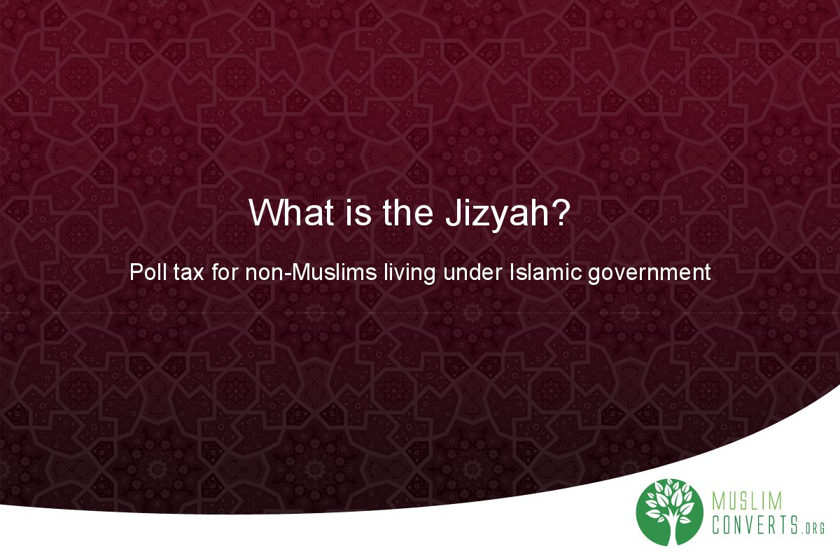 what-is-the-jizyah