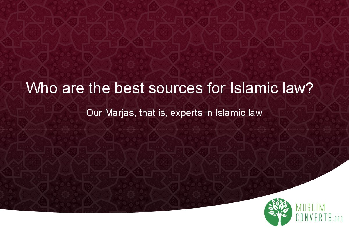who-are-the-best-sources-for-islamic-law